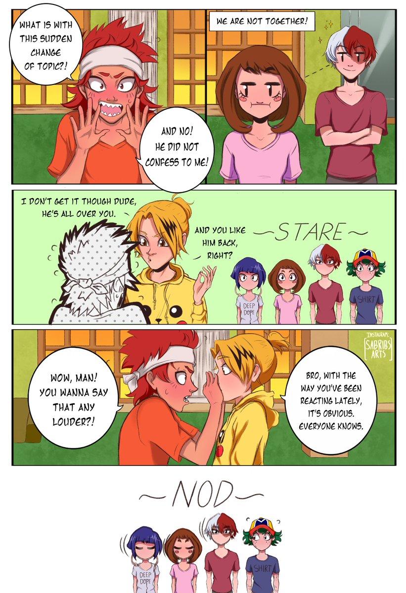 Kiribaku Split Emotions Comic