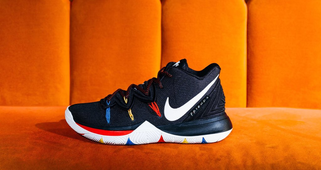 new style 9babf ddc61 Cop your pair Thurs 5 16   10am https   www.jimmyjazz.com mens footwear  nike-kyrie-5--friends- AO2918-006 color Black …pic.twitter.com 3e6Y7cBErG