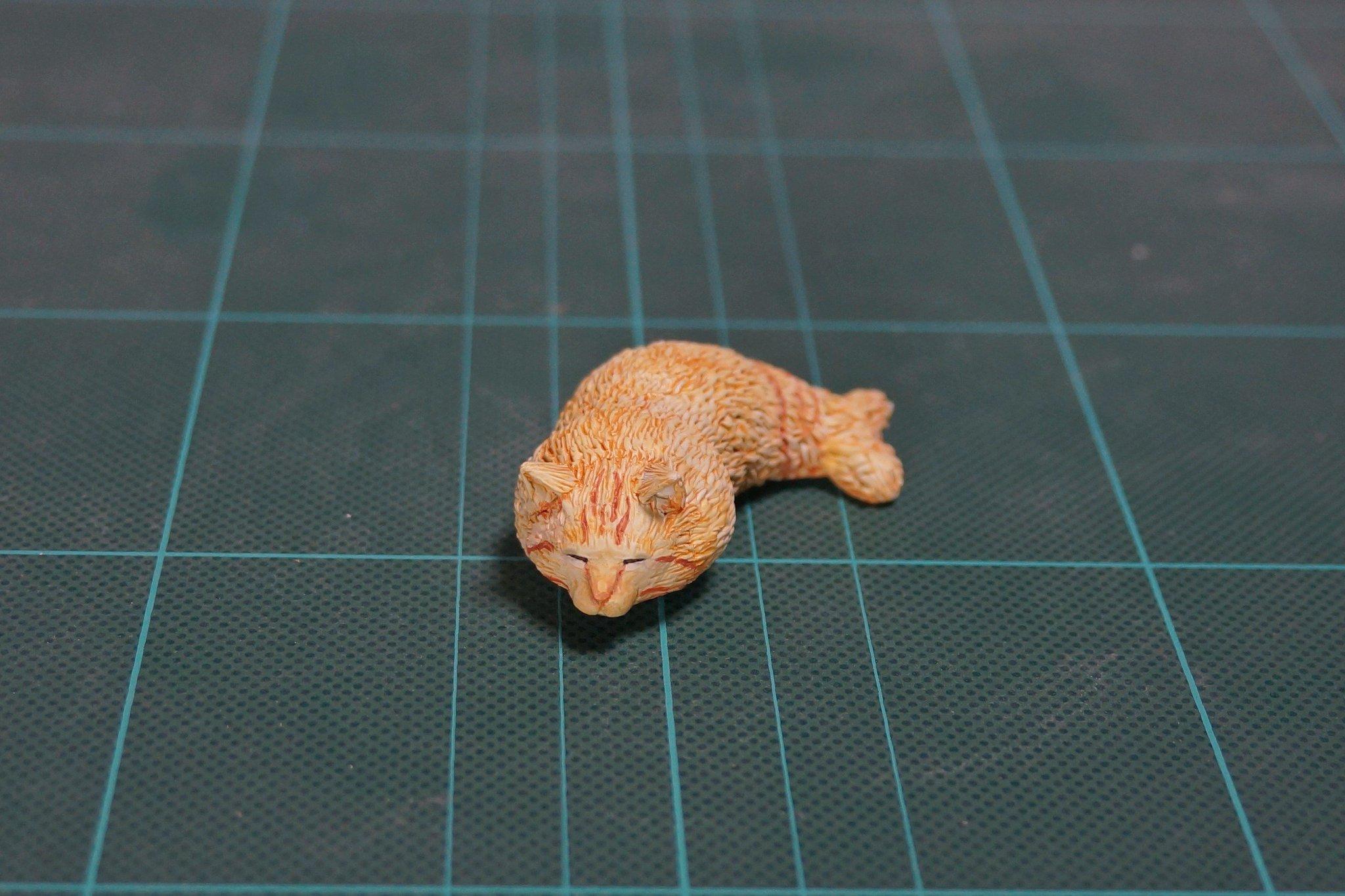 トラ猫がエビフライになっててかわいかったので作ってみた!!!