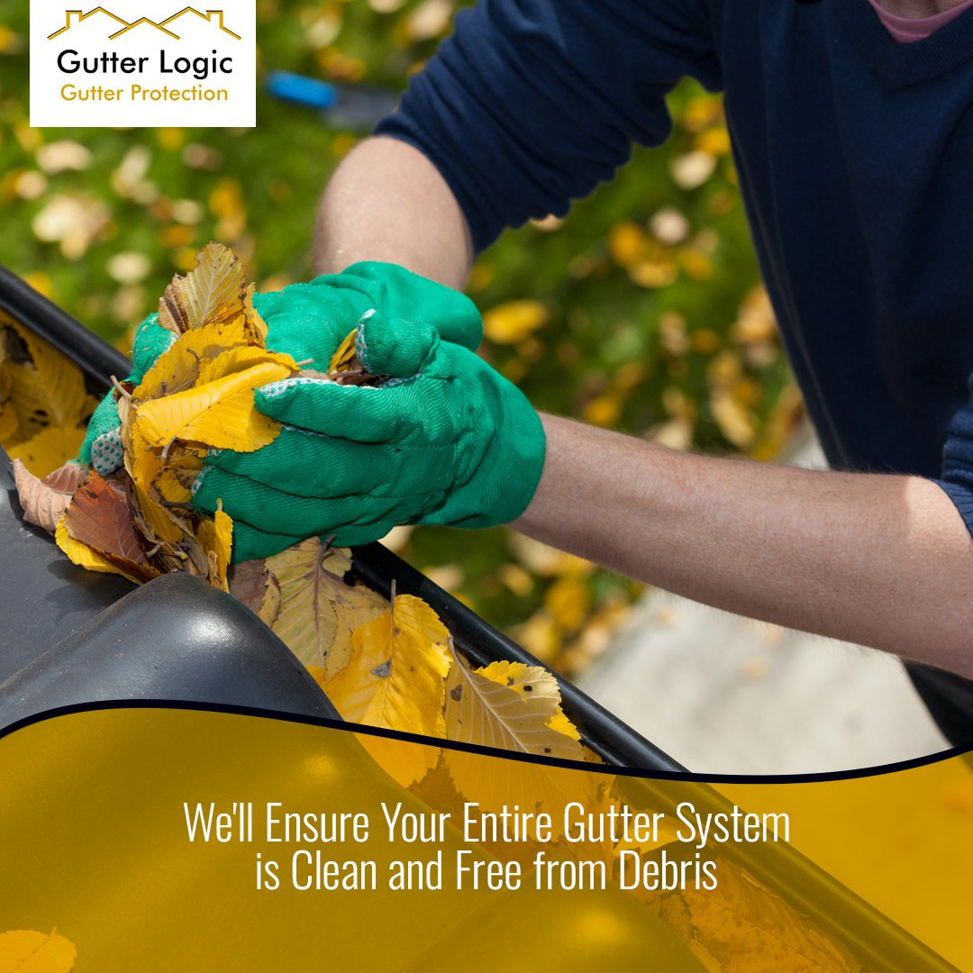 Before installing Gutter Dome, well clean out your existing gutters and downspouts entirely, so you dont have to. gutterlogic.com/about/faqs