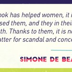 Image for the Tweet beginning: Discover how Simone de Beauvoir