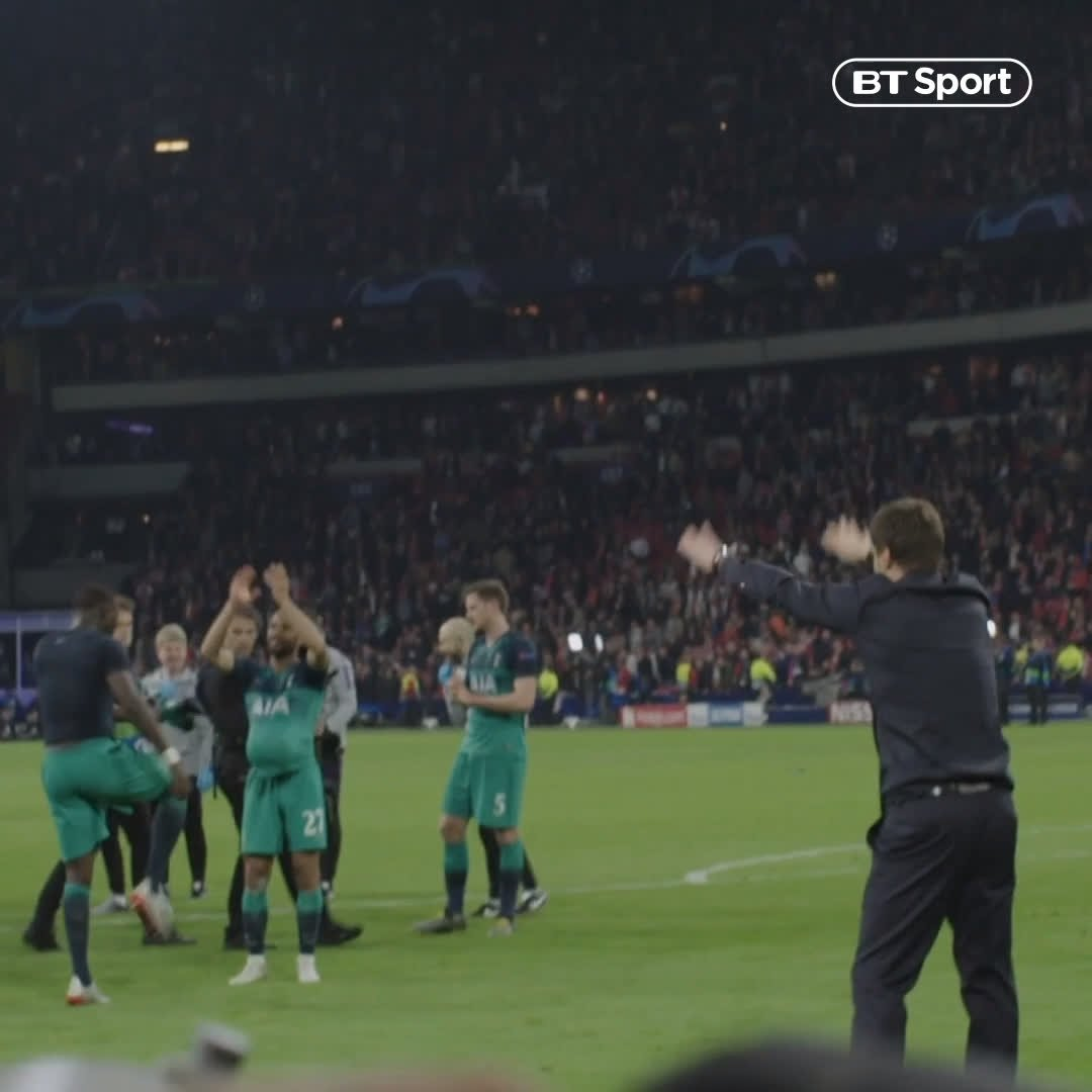 Mauricio Pochettino rejecting praise and telling the fans to praise the players instead is peak Mauricio Pochettino.