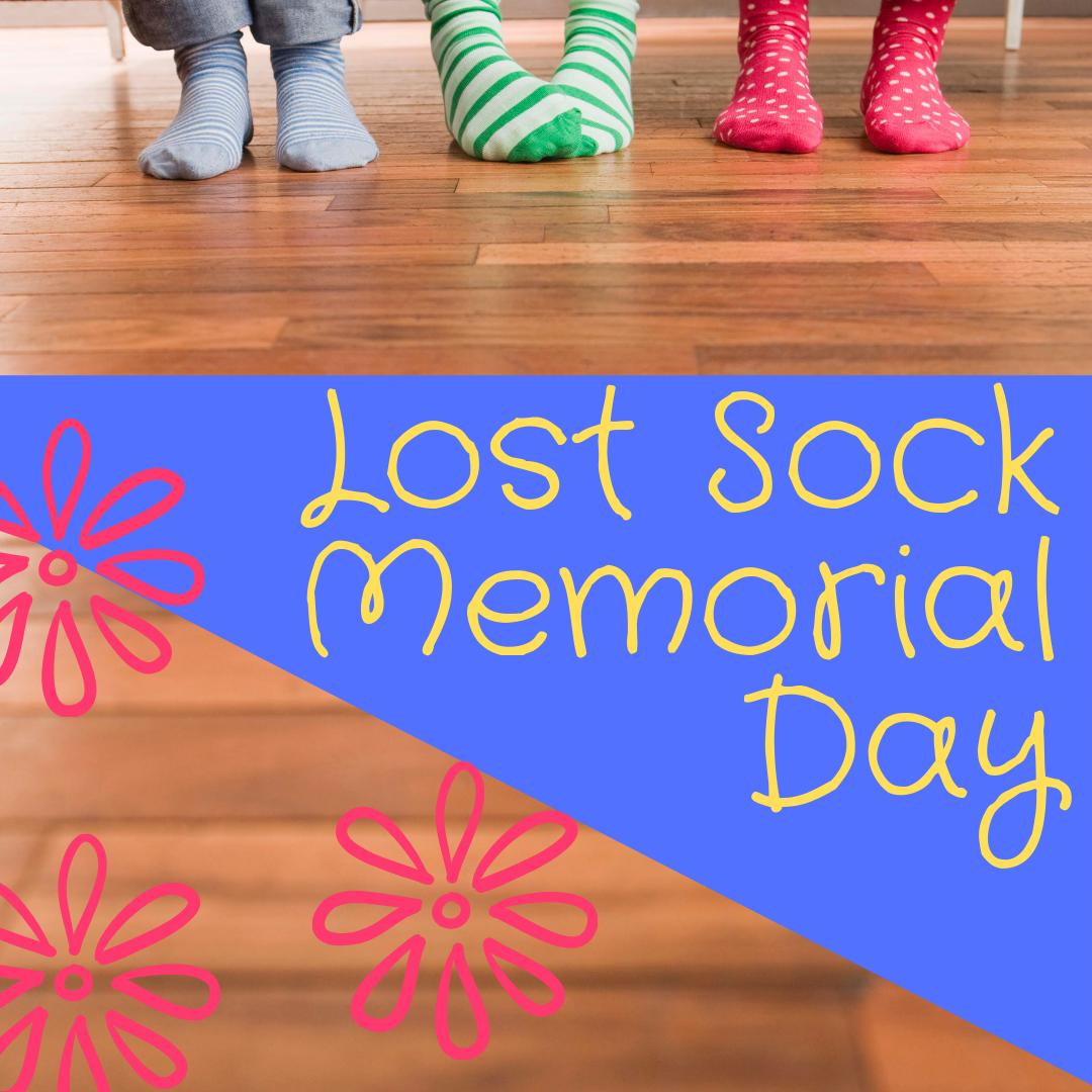 Sandy Edwards On Twitter Today Is National Lost Sock Memorial