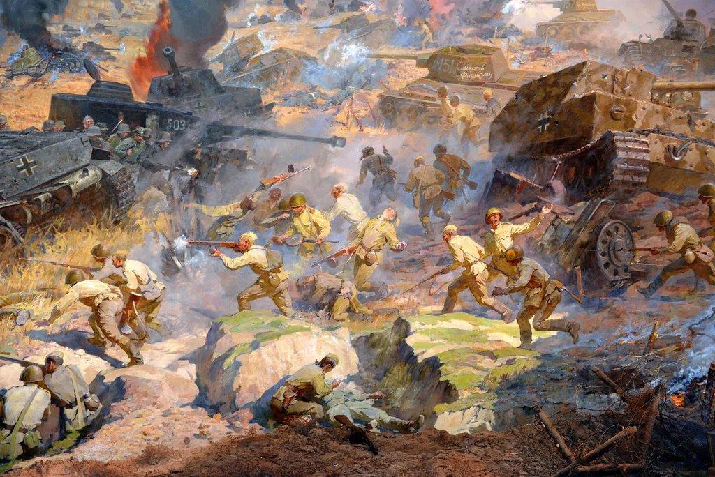 Картинки сражения под прохоровкой