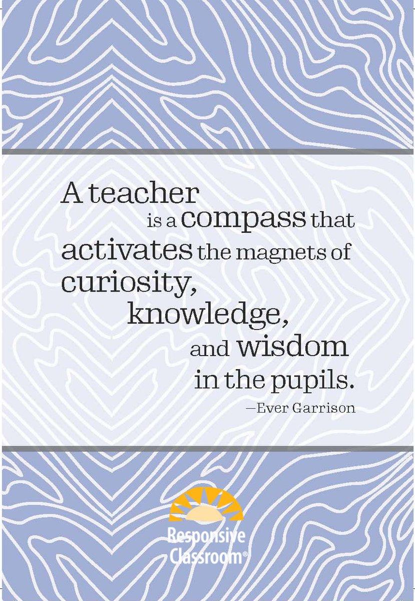 Nailed it! #TeacherAppreciationWeek #ThankATeacher #ResponsiveClassroom #SocialEmotionalLearning #SEL #teachersrock