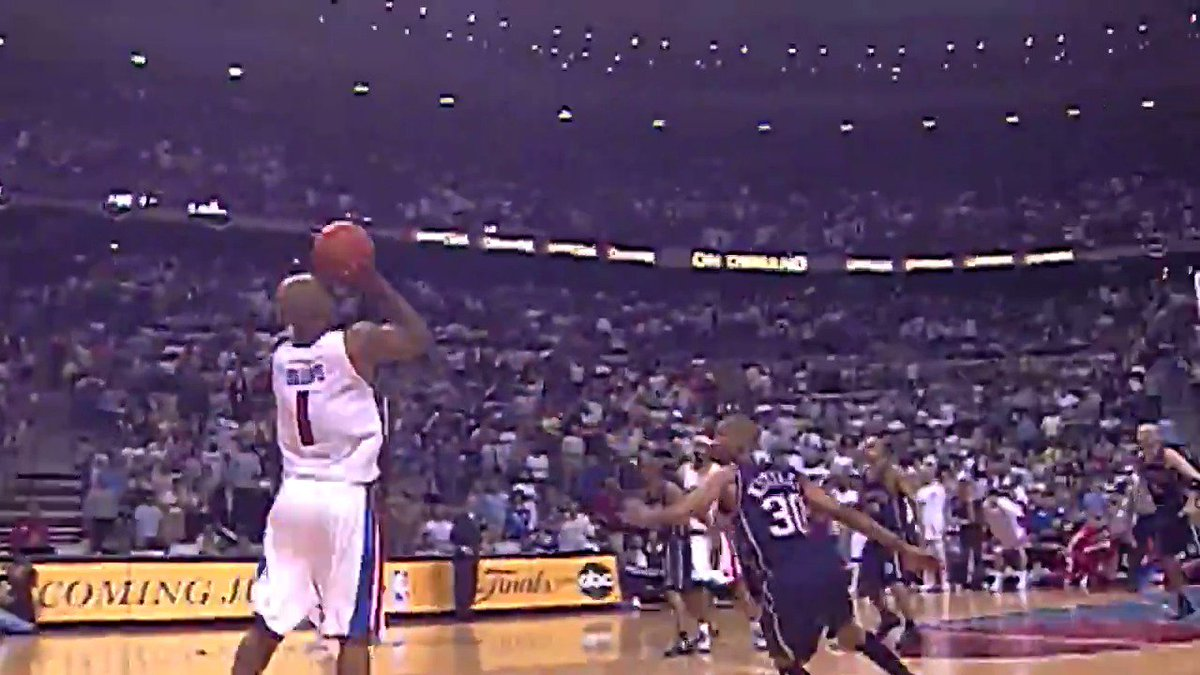 Mr. Big. Shot. 15 years ago today. #DetroitBasketball