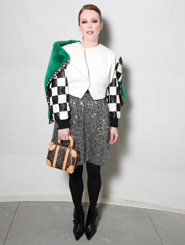 Julianne Moore Wore Louisvuitton Fall Cruise Fashion Nyc