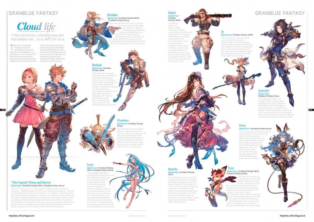 Granblue Fantasy Relink On Twitter The June 2019 Issue Of