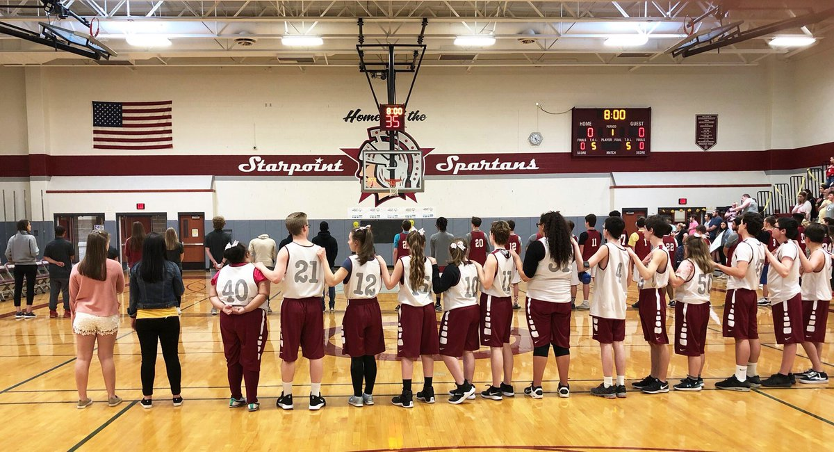 """""""What's our goal today?"""" """"To have fun!"""" Win or loose this team always has SO much fun working together and working hard! #ChooseToInclude #Unified"""