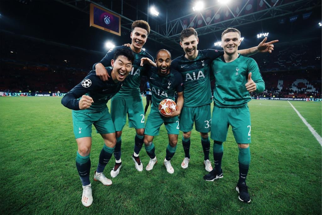 Champions League finalists! Unbelievable character shown from the boys last night, we never gave up! Thank you to all the travelling fans and the support back home, couldn't have made it this far without you. 🙏🏽💙 #COYS