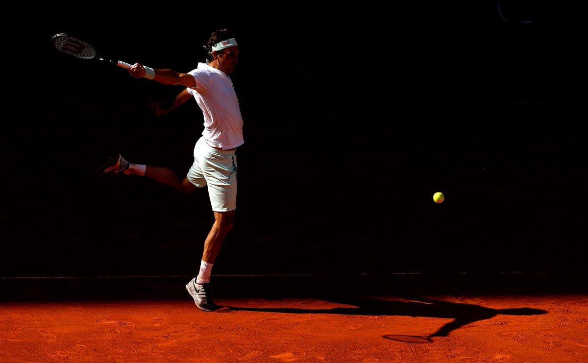 "Roger Federer on Twitter: ""Great game today vs @Gael_Monfils ..."