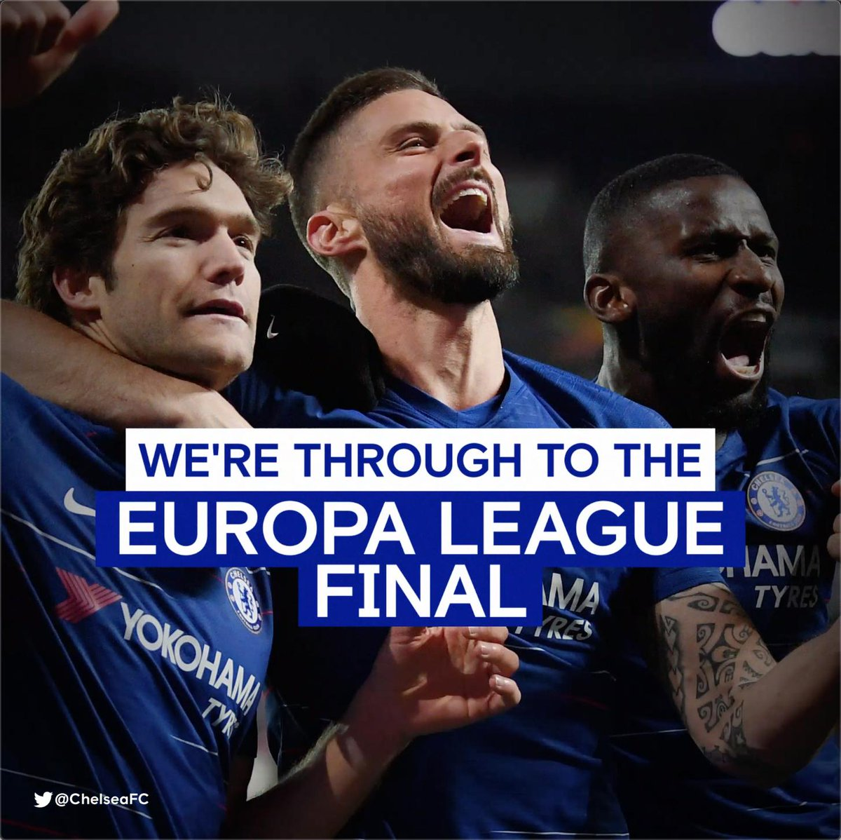 Europa League final...WE ARE COMING! #CHEFRA