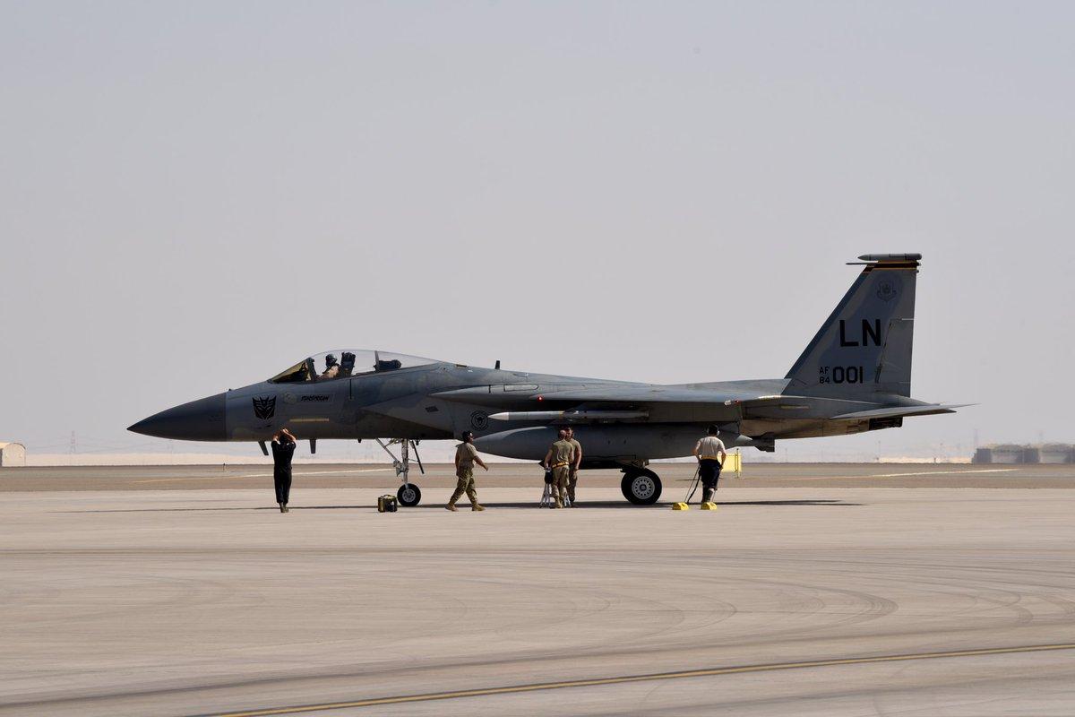 أمريكا: أرسلنا القوة الضاربة إلى الخليج بسبب تحضيرات إيران لمهاجمة عسكريينا - صفحة 2 D6K2hlwUcAAd5uL