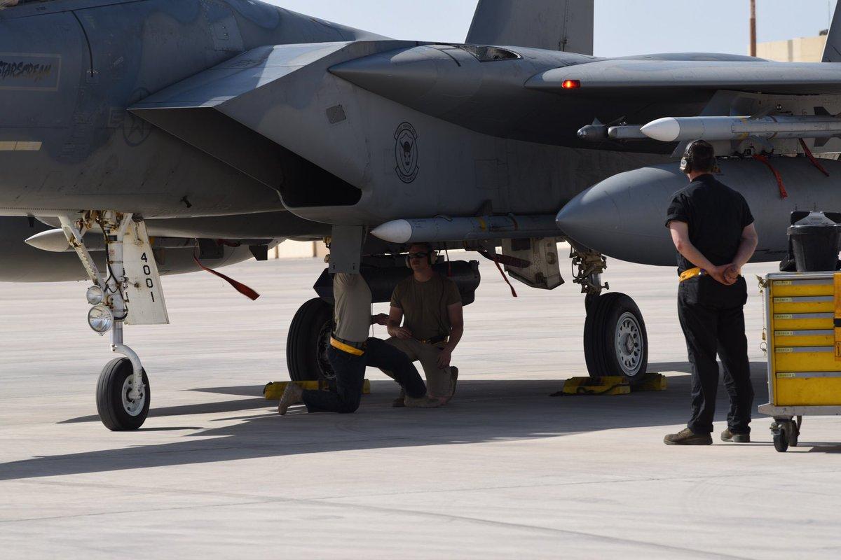 أمريكا: أرسلنا القوة الضاربة إلى الخليج بسبب تحضيرات إيران لمهاجمة عسكريينا - صفحة 2 D6K2hlxVUAEJmH7