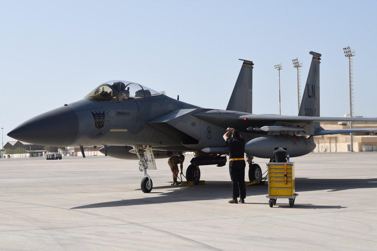أمريكا: أرسلنا القوة الضاربة إلى الخليج بسبب تحضيرات إيران لمهاجمة عسكريينا - صفحة 2 D6K2hlyUEAAHxEN