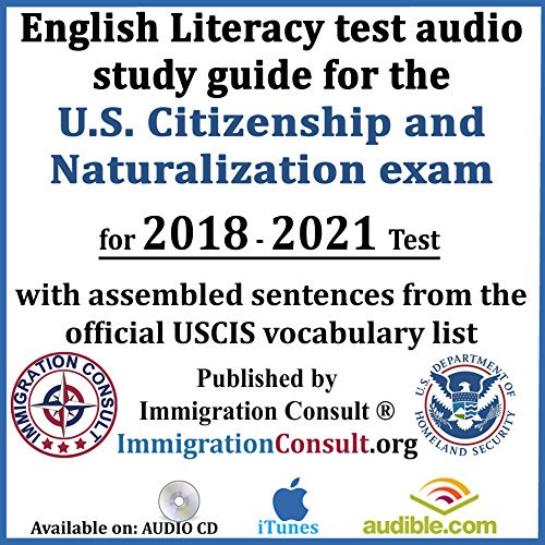 PDF] Download US Citizenship test audio study guide with all English