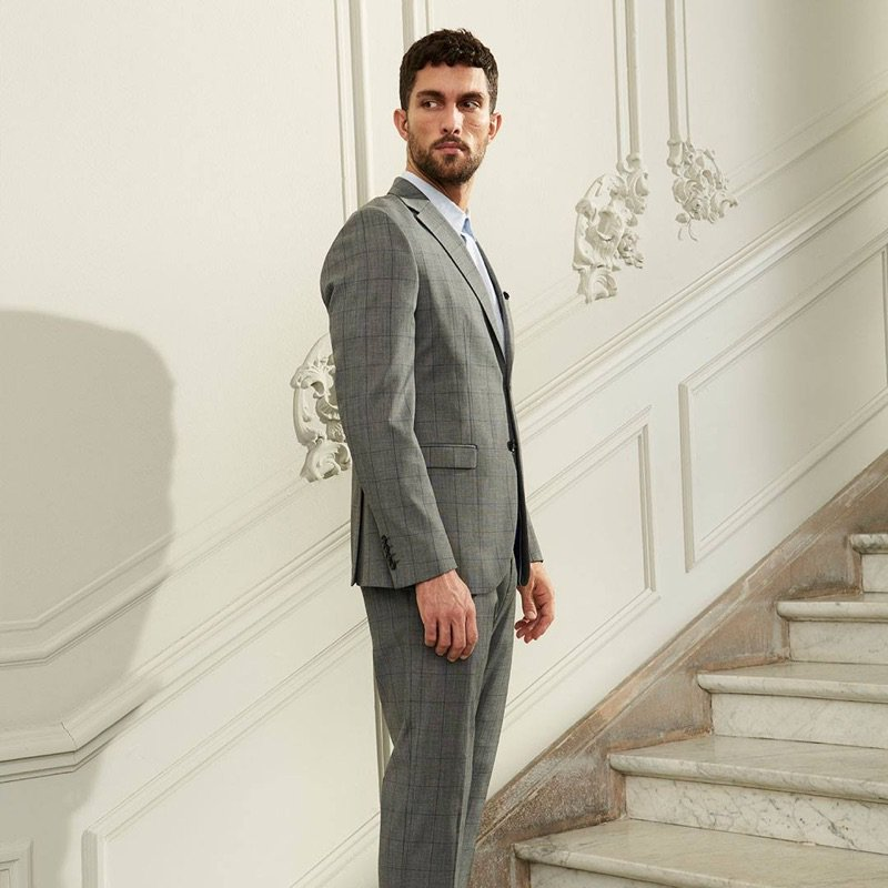 3a6a45317 tobiassorensen dons elegant suits for selected homme spring 19 campaign ss19