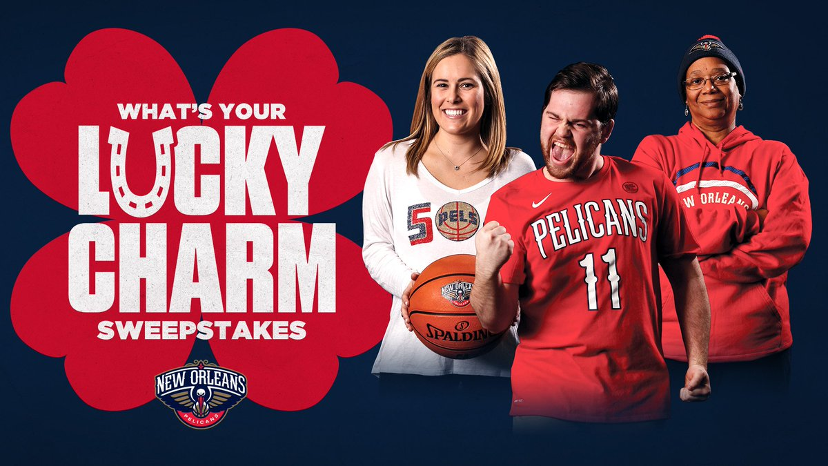 New Orleans Pelicans On Twitter Tell Us Your Lucky Charm