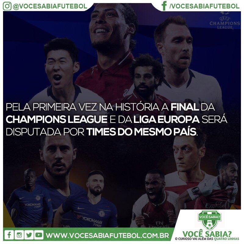 Você Sabia?- Futebol's photo on Liga Europa
