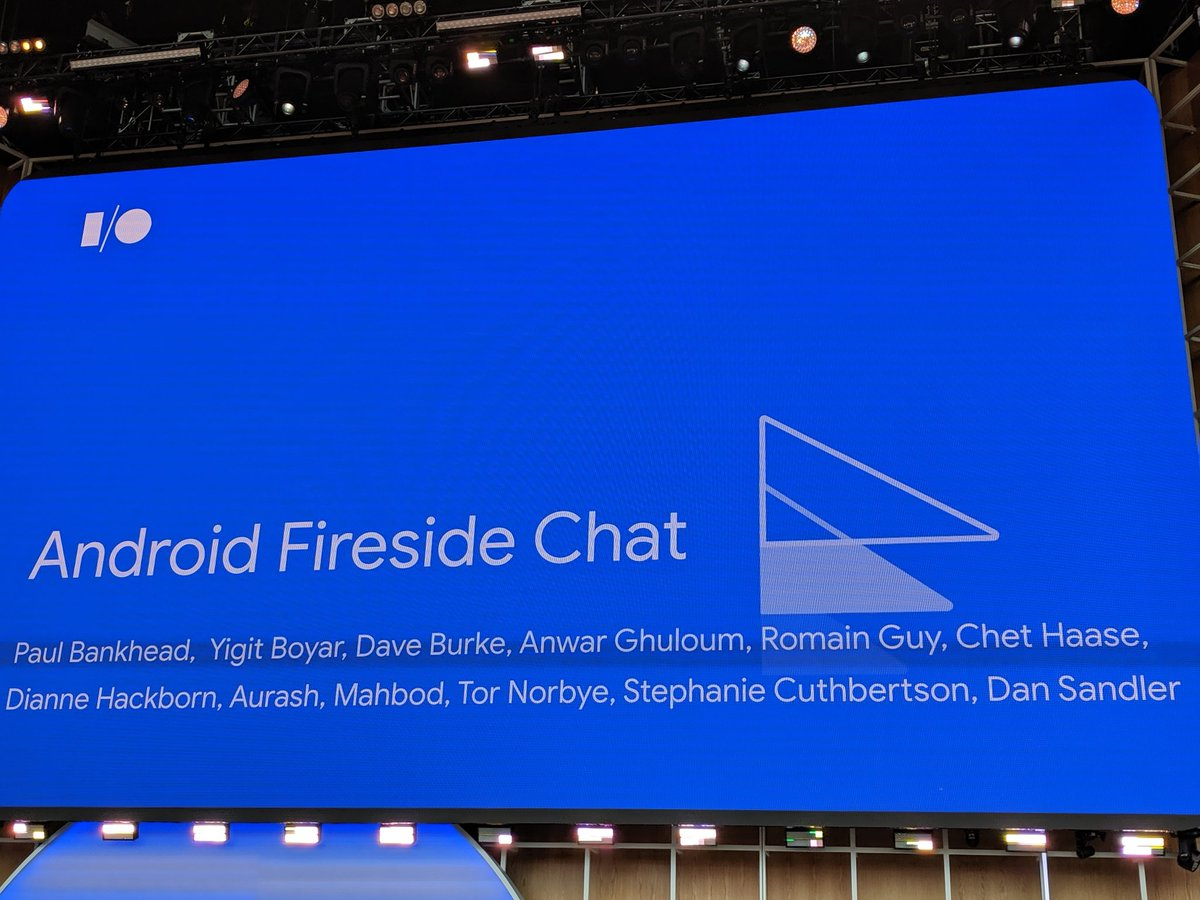 Most anticipated chat for #androiddev #io19