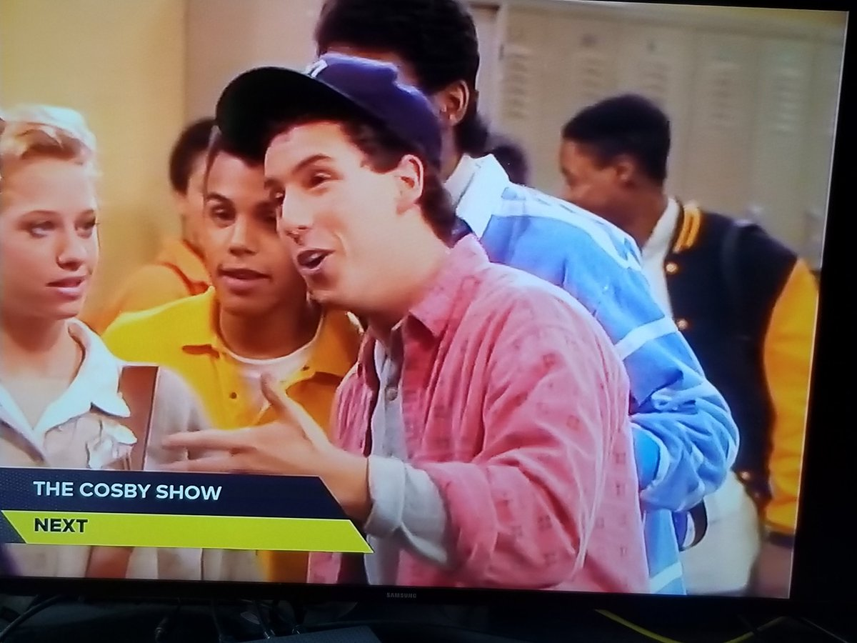 "Adam Sandler Cosby Show j.a. adande on twitter: ""young adam sandler on the cosby show… """