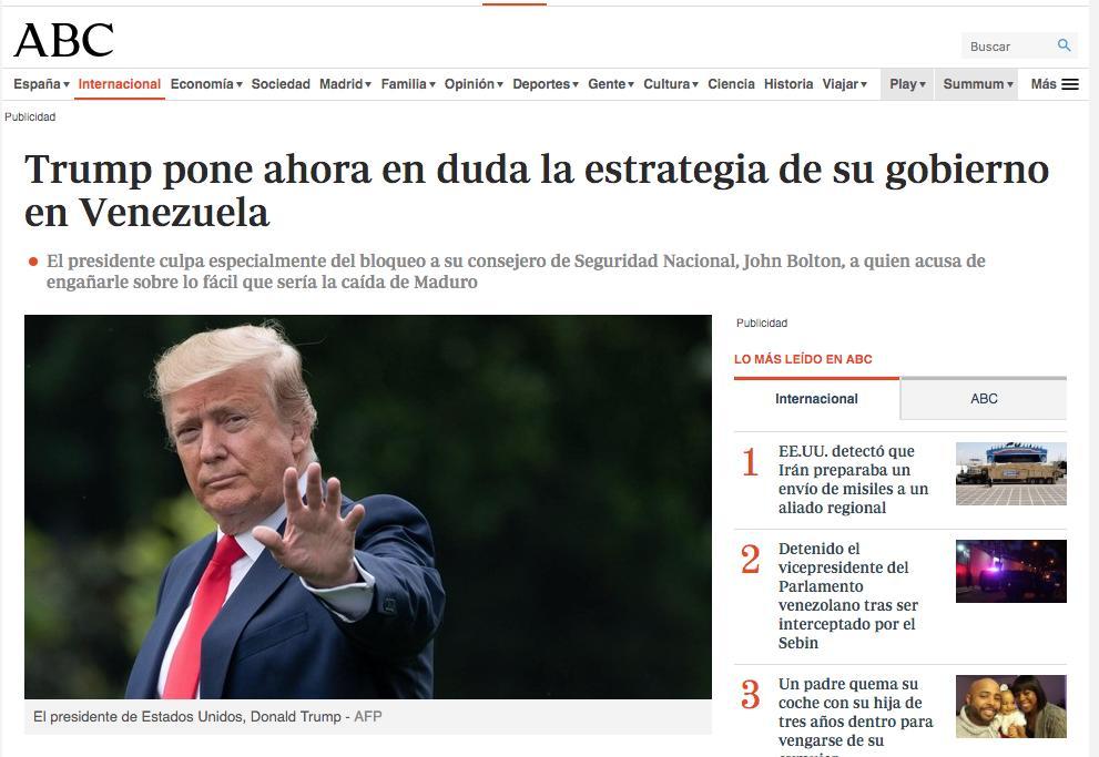 Crónica de un reculeo anunciado.
