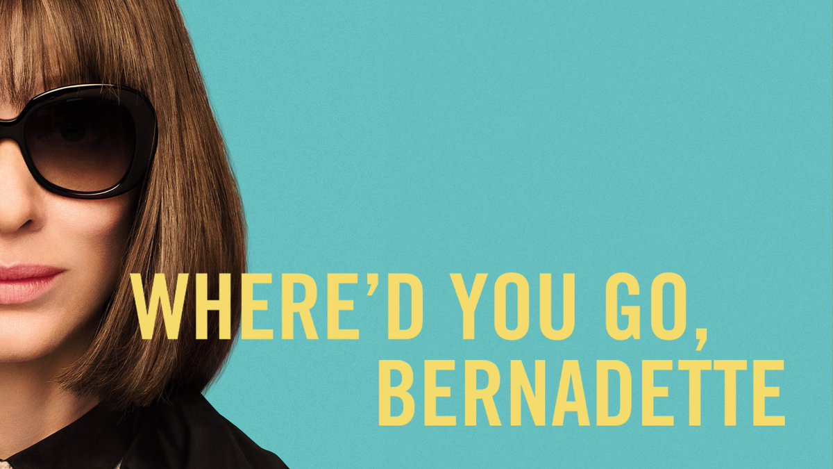 Find your passion. Find your purpose. Find what makes you, YOU. Watch the new trailer for WHERE'D YOU GO, BERNADETTE now – in theaters this August. #Bernadette