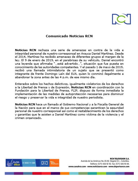 Noticias RCN on Twitter: