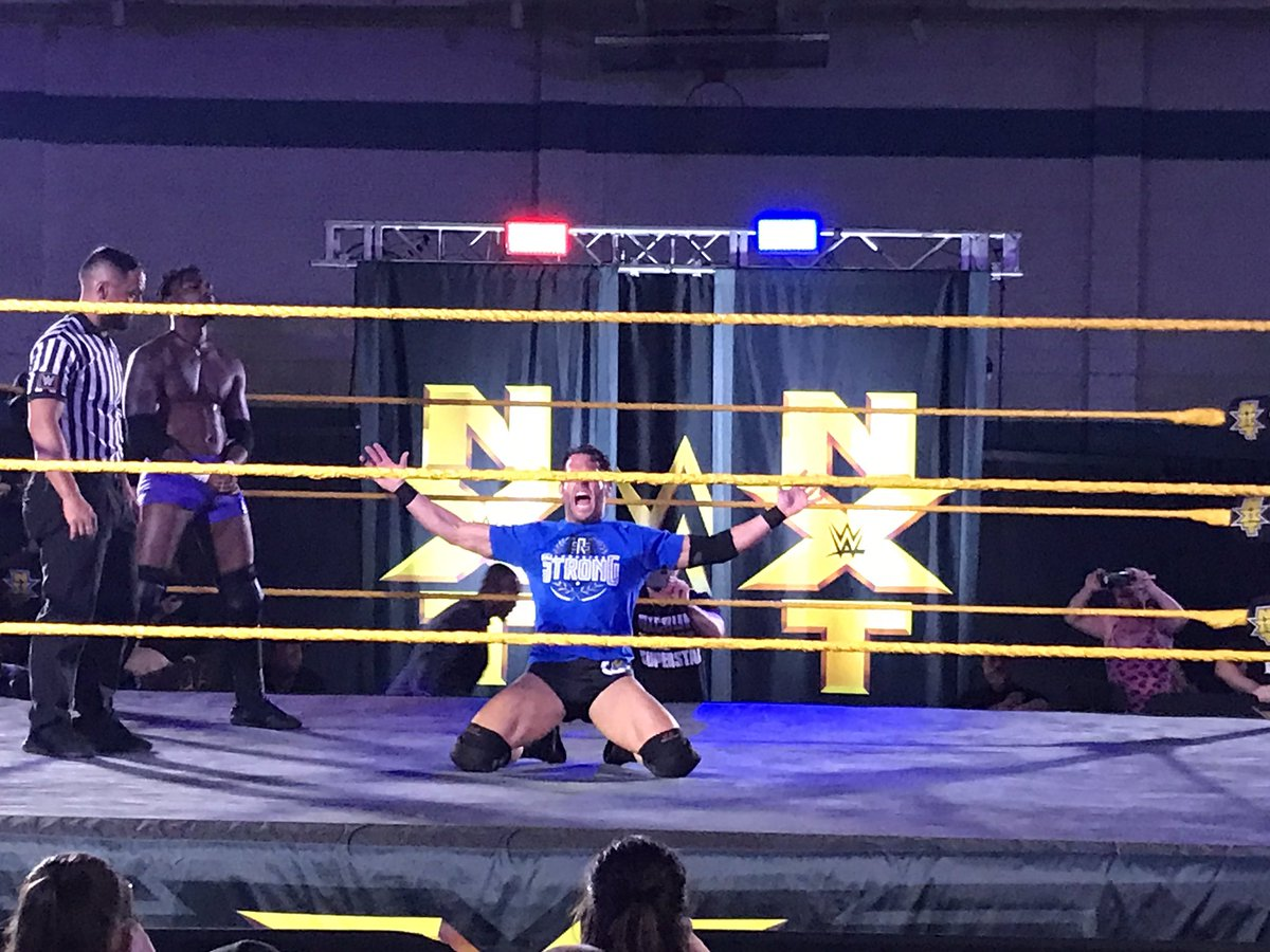 WWE NXT Live Event Results From Largo (5/9): The Velveteen Dream Defends, Kushida, Roderick Strong