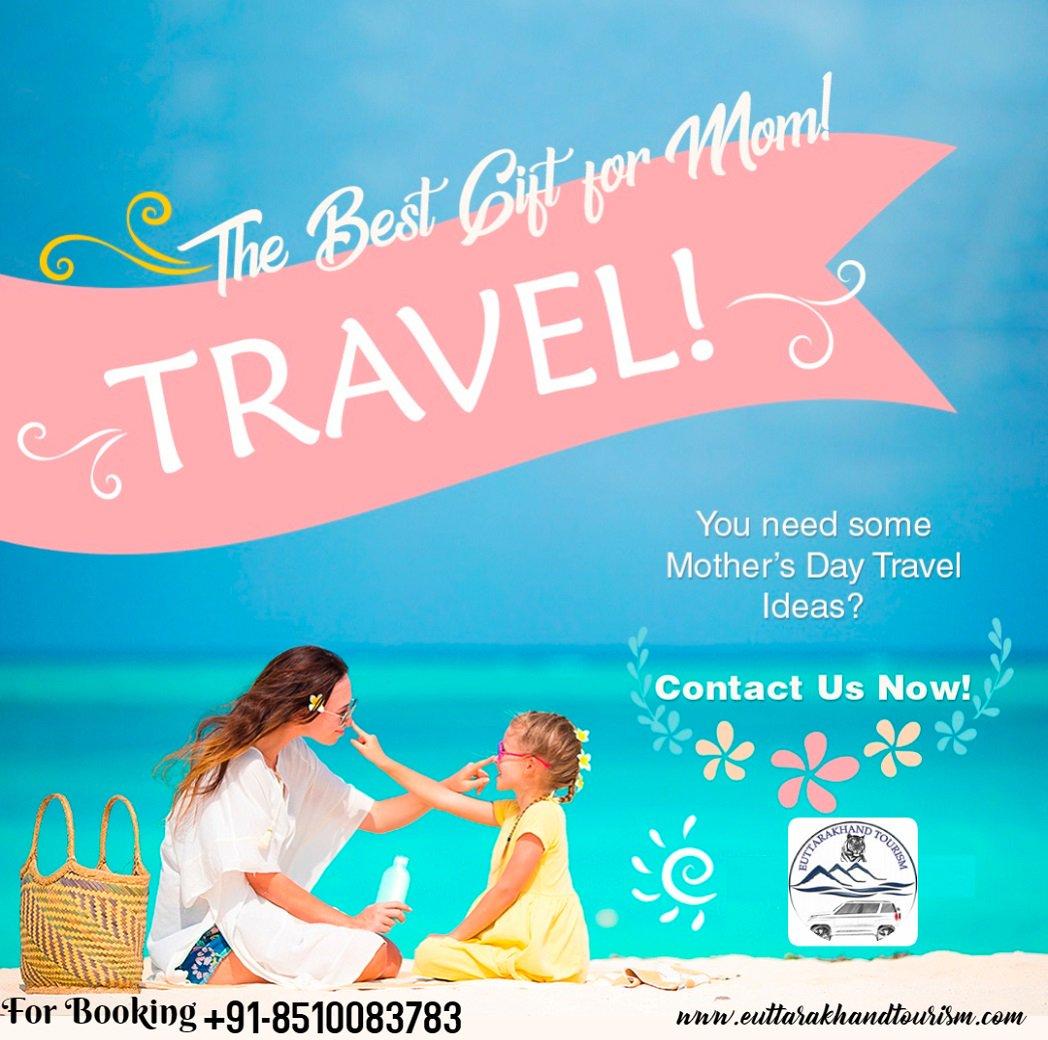 The best gift for mom #Travel, You need some Mother's Day Travel Ideas? Contact us Now! 91-8510083783 #ChardhamYatra #TreksAroundChardham  #ChardhamPlus #IncredibleIndia #Devbhumi #Spiritual #uttarakhandtourism #mountains #Chardham2019 #Yamunotri #Gangotri  #Badrinath #Kedarnath