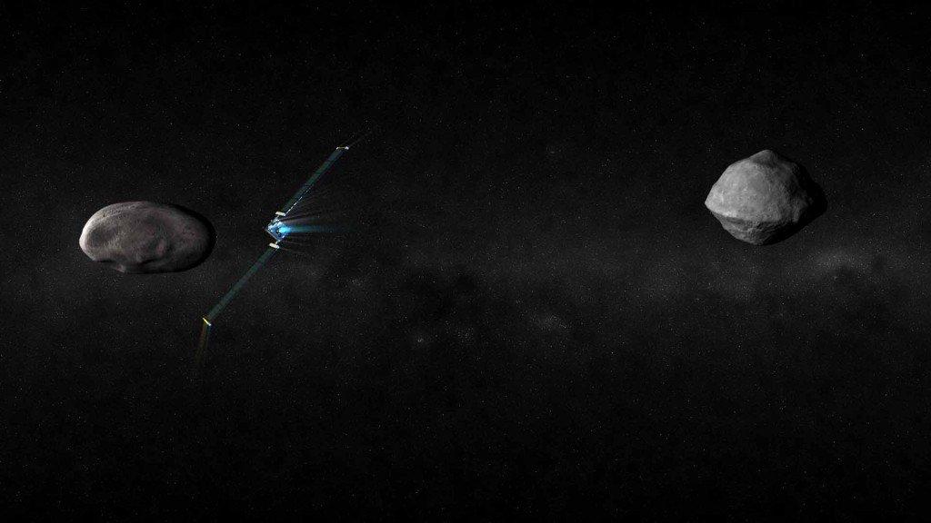 asteroid near earth - HD1920×1080