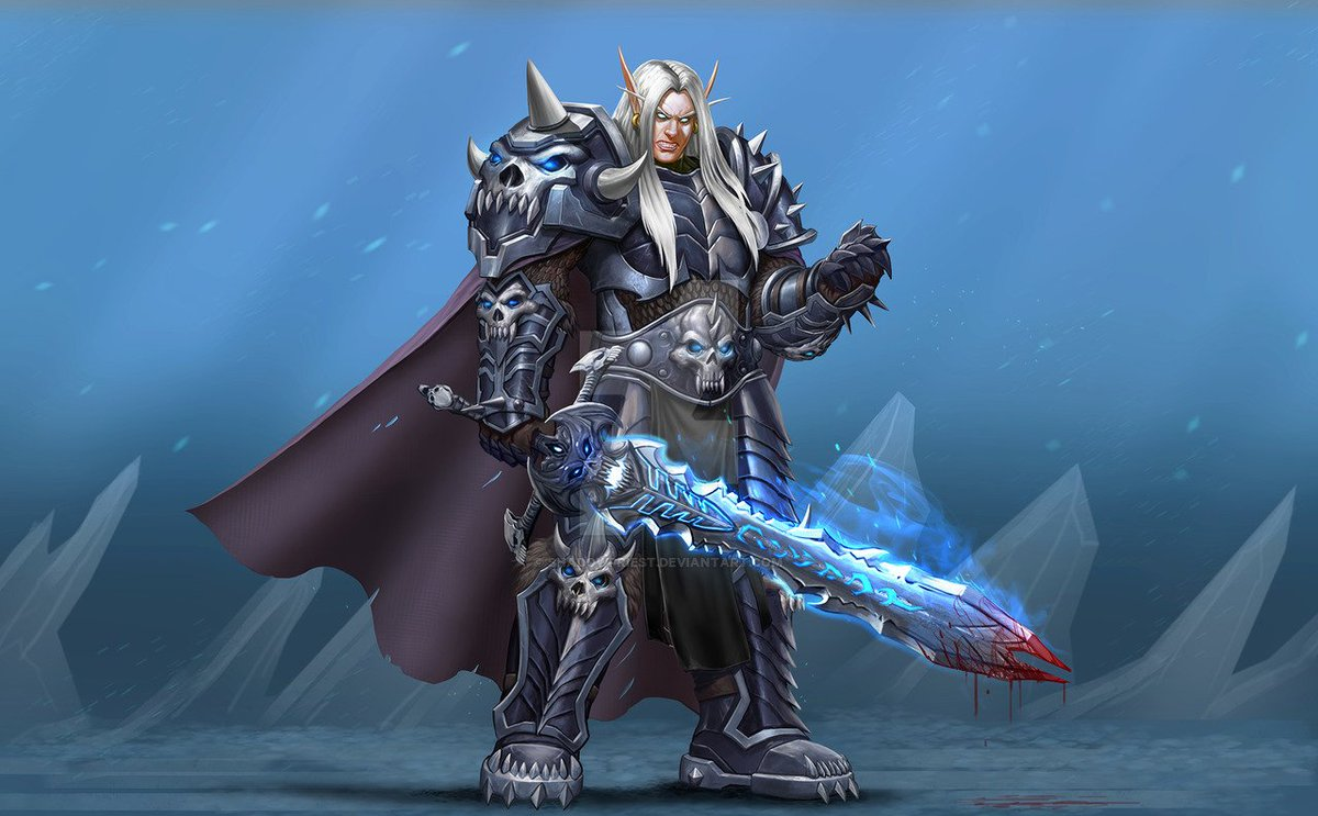 "ShadowPriest on Twitter: ""...Commission: Blood Elf Death Knight ..."