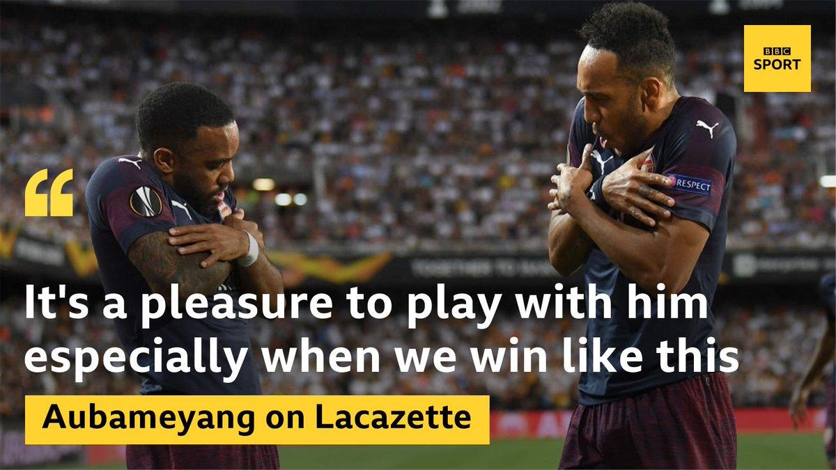 BBC Sport's photo on Lacazette