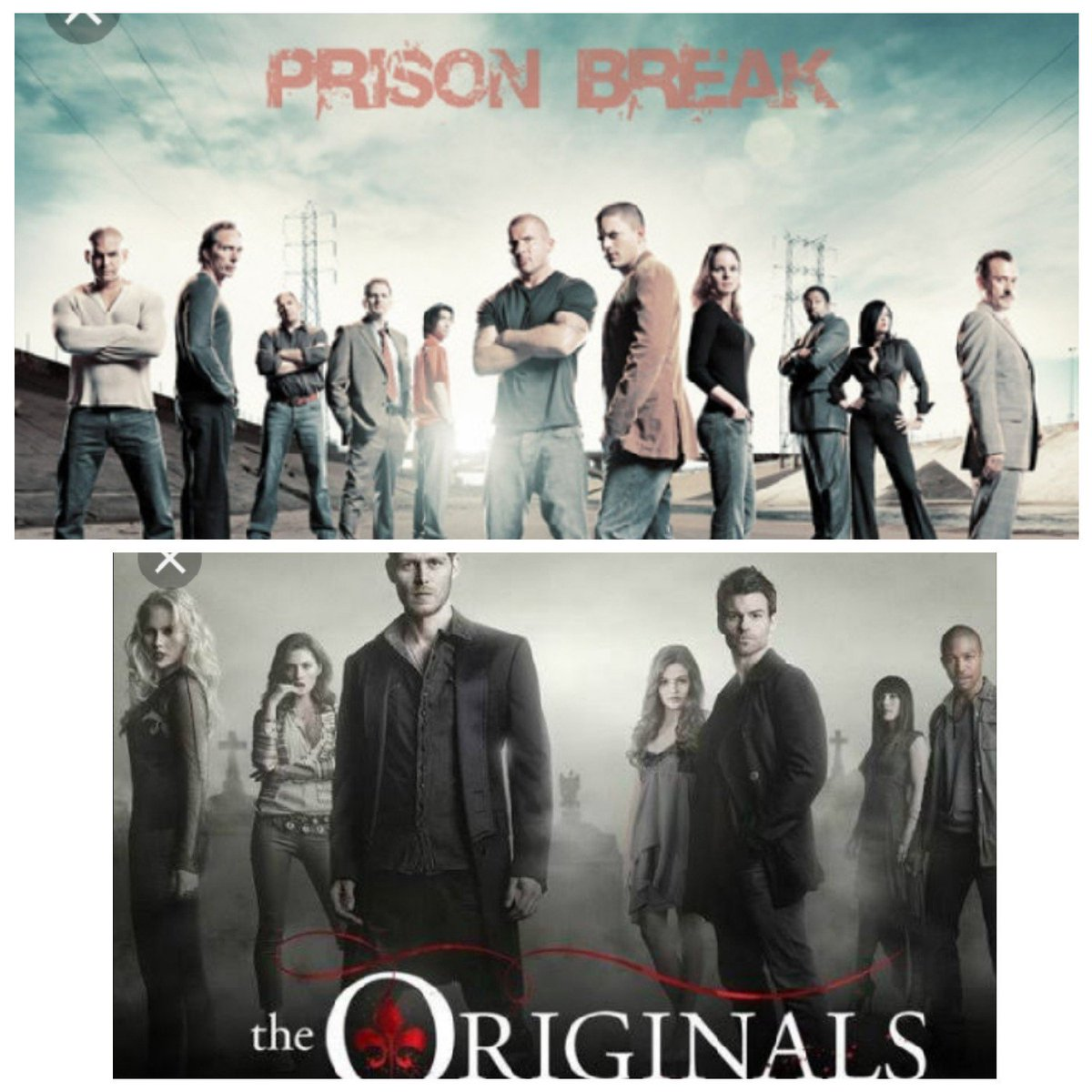 Which of this series Nailed it For you? Like for Prison Break Retweet For The Originals