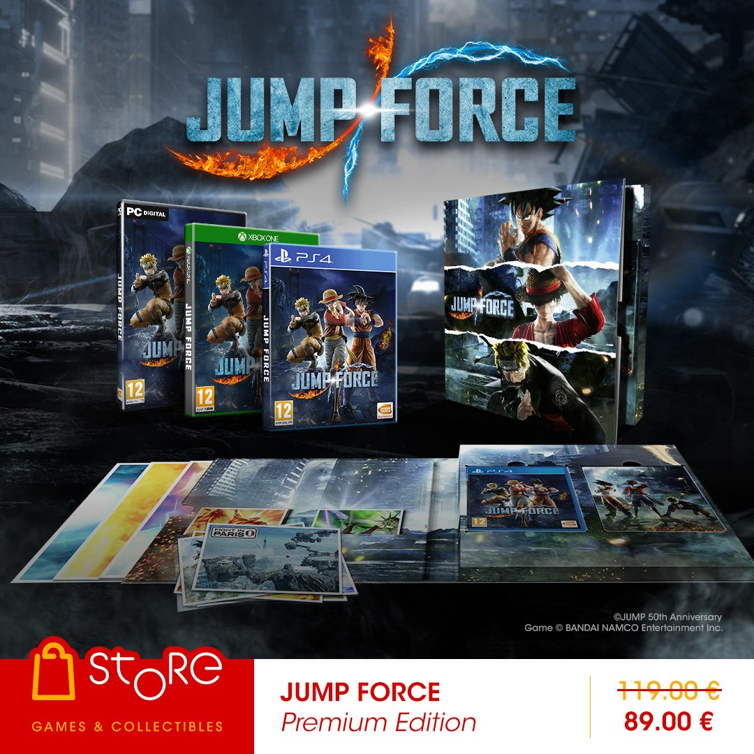 difference between jump force editions