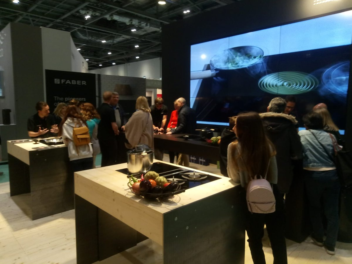 Don't miss us at the @GDLive_UK in #London, we're there until 12th May.  We look forward to welcoming you there 😀 You'll get the chance to see our new & award winning #BORA Classic 2.0 and BORA Pure.   #weareBORA #cookingrevolution #meettheoriginal #theendoftheextractorhood