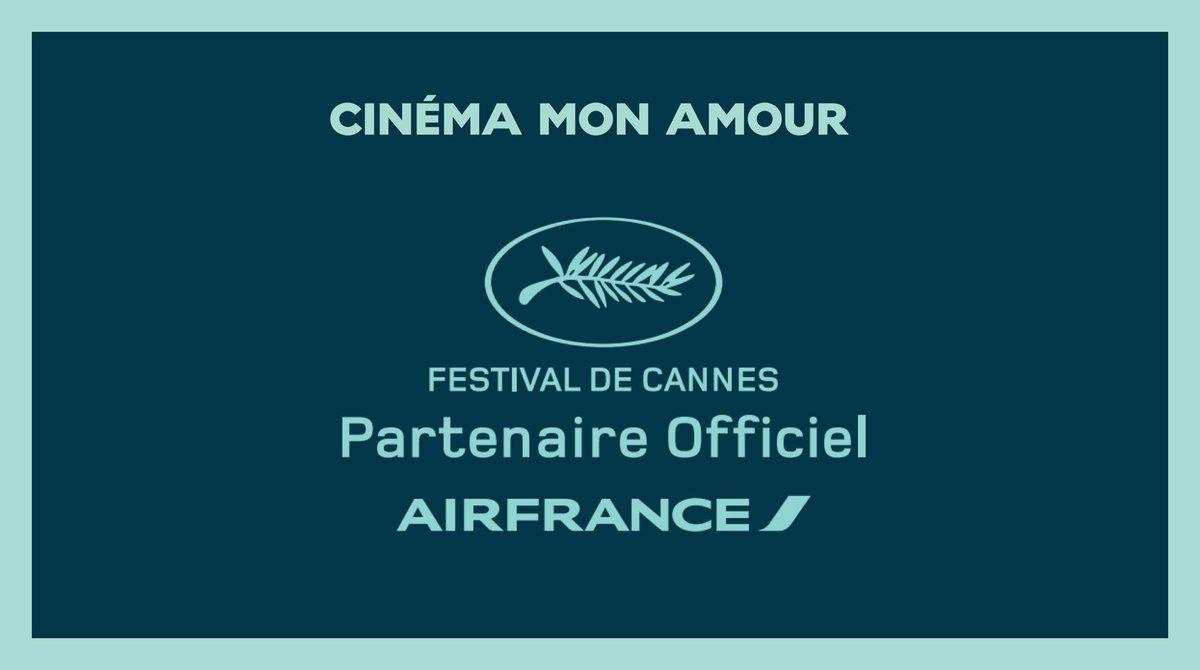 🎬#AirFrance x @Festival_Cannes = 39 ans de collaboration ! Pour l'occasion, Air France met le 7e art au 7e ciel en adaptant sa programmation pour proposer des films primés lors des précédentes éditions 🎥 http://bit.ly/2LxtjLp