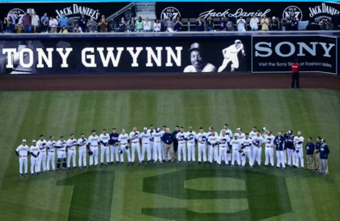 Forever... Happy Birthday Tony Gwynn...