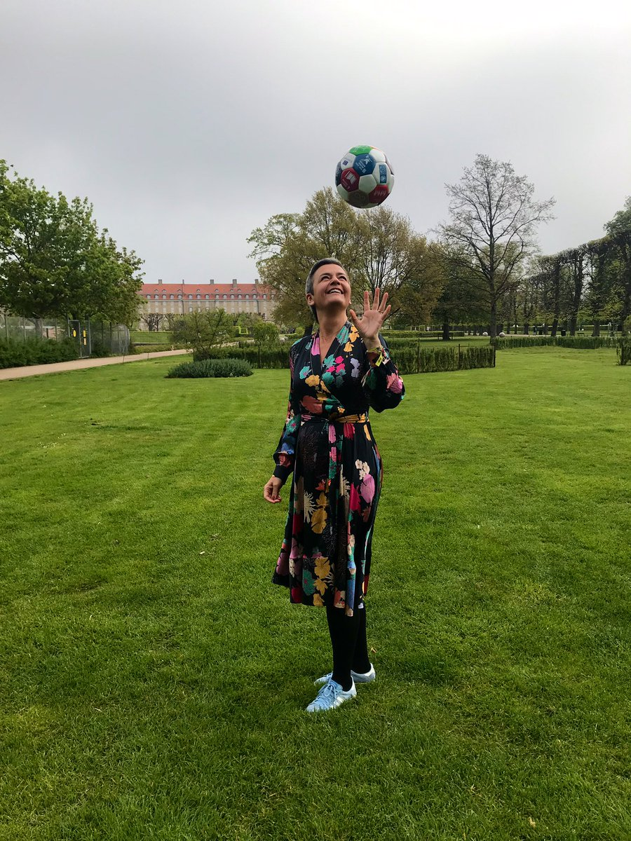 Great Global Goals World Cup @ggwcup - Women of Europe unite in Copenhagen to play for the world #taketheball. I believe in the power of being a team and playing as a team: Then we can achieve what we want - #FutureOfEurope #ThisTimeImVoting