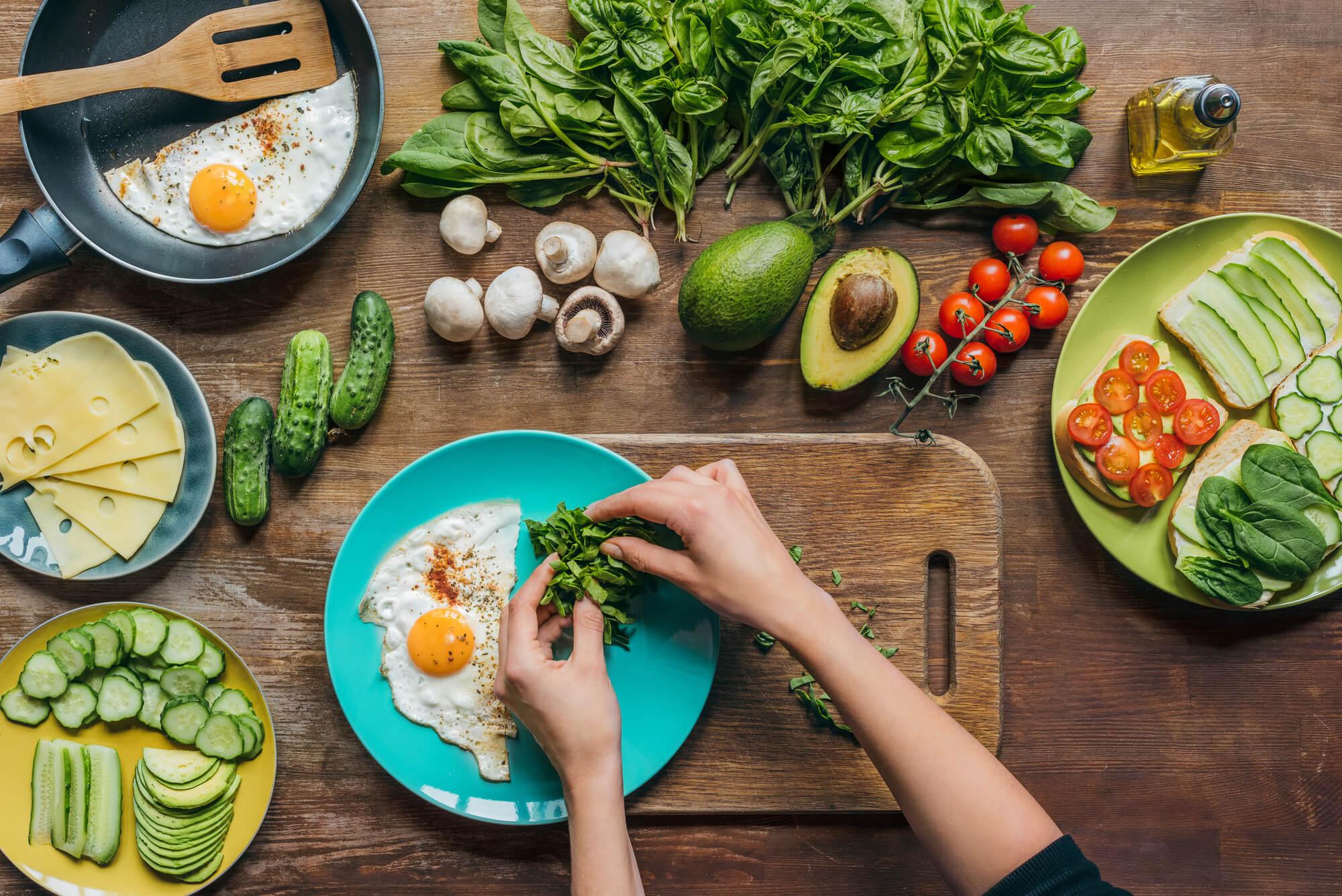 Варианты вегетарианская диета