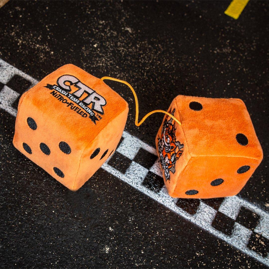 CTR Nitro-Fueled Commemorative Medal Crash Team Racing Official Crash Bandicoot Merchandise