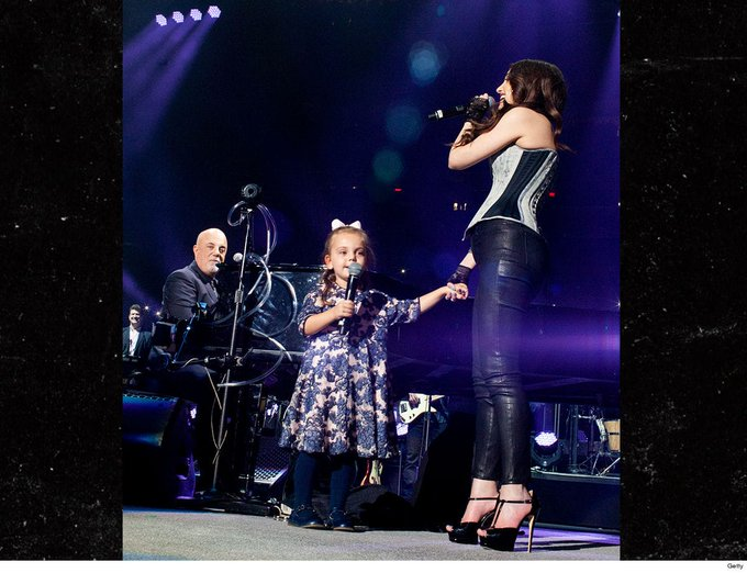 Billy Joel\s Daughters Sing \Happy Birthday\ for His 70th at MSG -