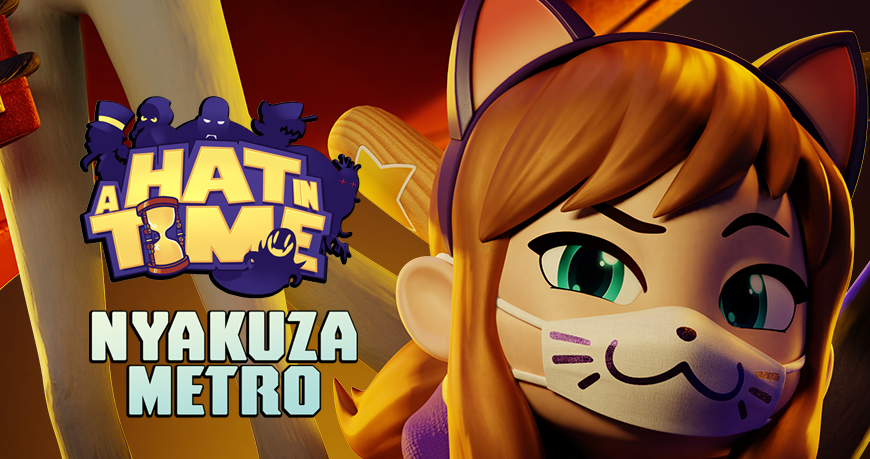 A HAT IN TIME | Nyakuza Metro: OUT NOW (@HatInTime) | Twitter
