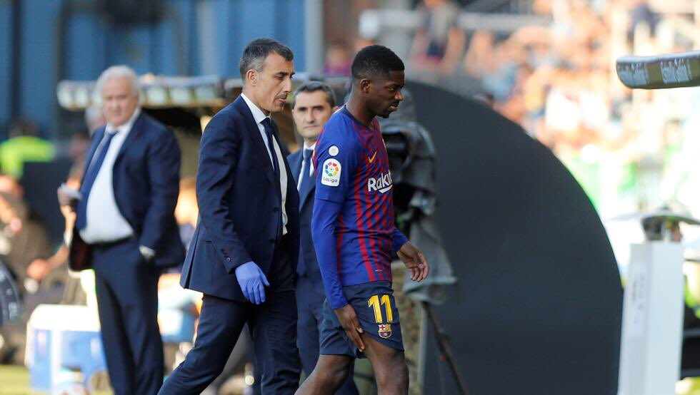 Valverde wanted to start Dembélé and Semedo at Anfield. The Frenchman's injury changed his plans. [md]