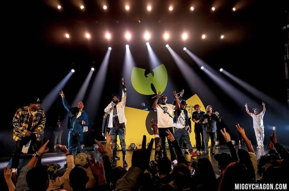 Let's celebrate life. CHEERS TO THE WEEKEND!!!! #WuTang #OfMicsAndMen #Showtime