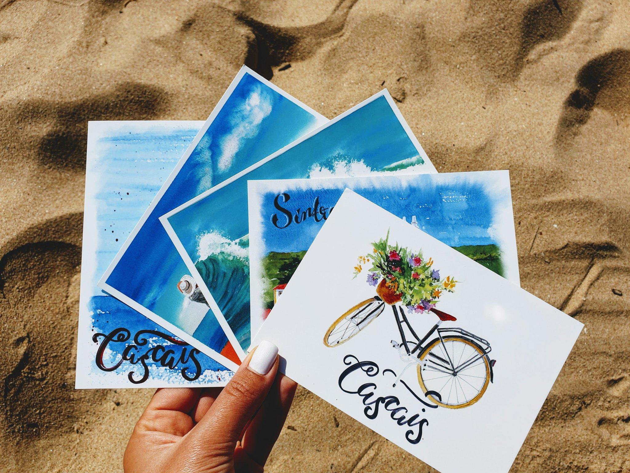 Португалия открытки из пробки