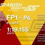 [INFO] 🇪🇸 Carlos Sainz, sexto en los Libres 1 del GP de España 👉 https://t.co/Y4Q2tqD3wz    🇬🇧 Carlos Sainz, sixth in Free Practice 1 at the Spanish GP 👉https://t.co/DtalhSEsrp      #carlo55ainz #SpanishGP 🇪🇸 #F1 #FP1