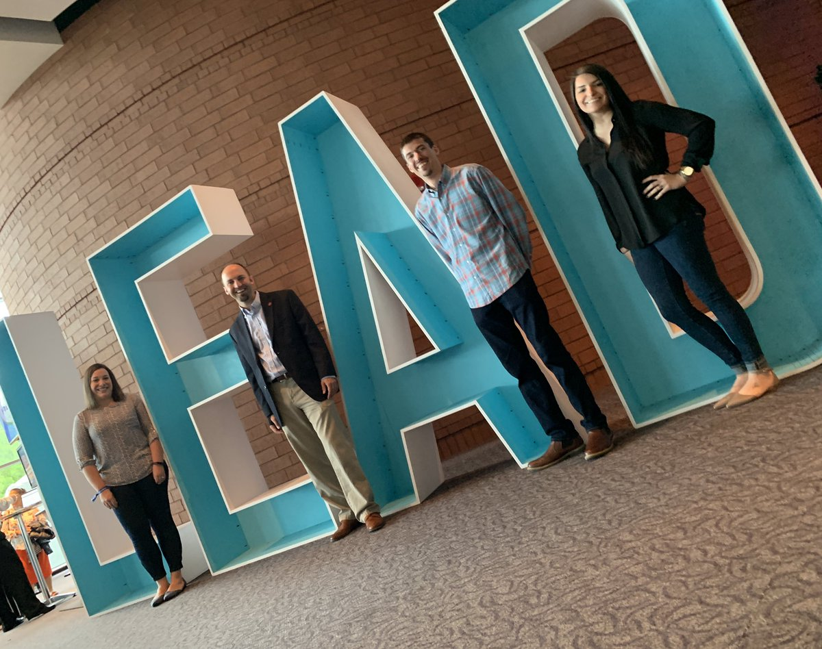 We're ready for #leadercast! #healthyteams