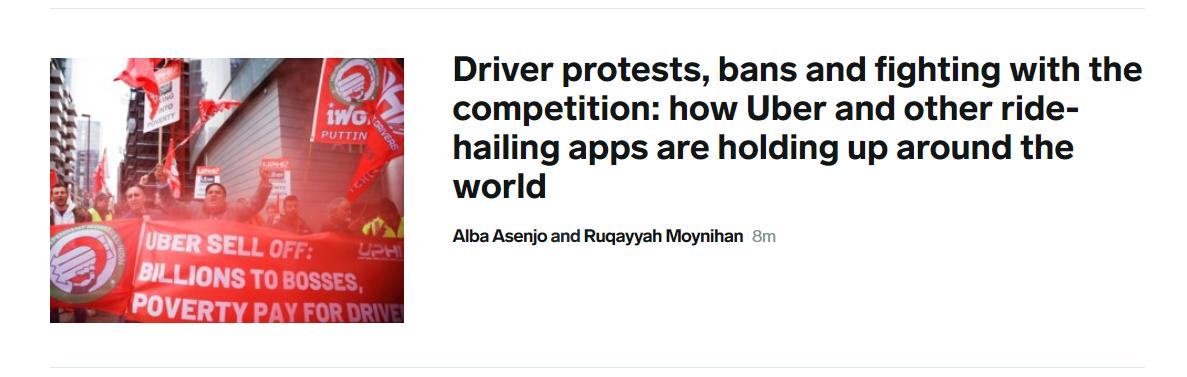 I'm on @businessinsider USA's front page for the very first time! 😎🥳🎉https://www.businessinsider.com/how-uber-and-other-ride-hailing-apps-are-holding-up-around-the-world-2019-5?IR=T …