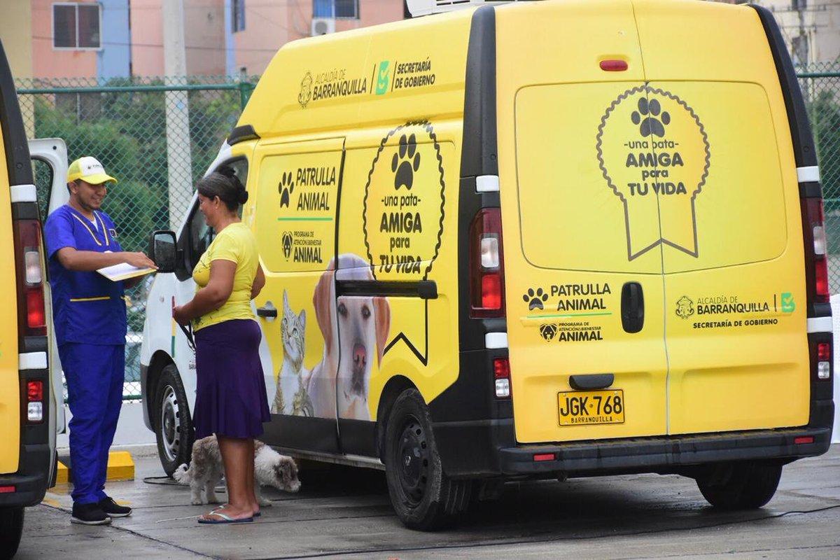Resultado de imagen para Alcalde Char pone en funcionamiento tres nuevas patrullas animales